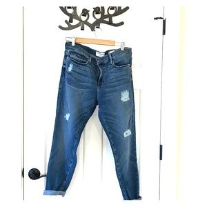 Distressed jeans by Frame